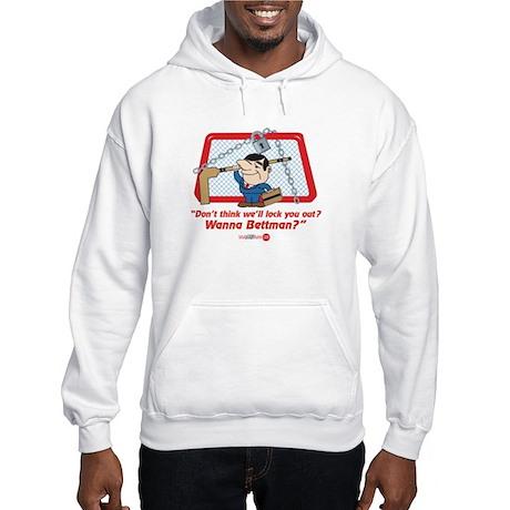 No Hockey Lockout Shirt 2 Hooded Sweatshirt