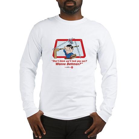 No Hockey Lockout Shirt 2 Long Sleeve T-Shirt