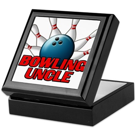 Bowling Uncle (pins).png Keepsake Box