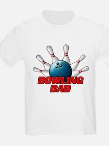 Bowling Dad (pins).png T-Shirt