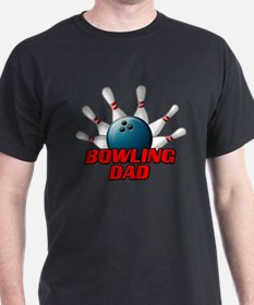 Bowling Dad (pins).png T-Shirt