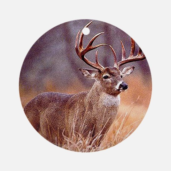 Wildlife Deer Buck Ornament (Round)
