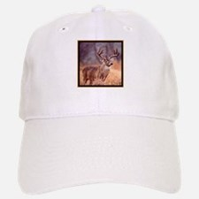 Wildlife Deer Buck Baseball Baseball Cap