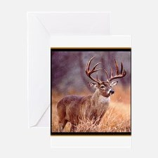 Wildlife Deer Buck Greeting Card