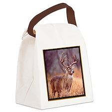 Wildlife Deer Buck Canvas Lunch Bag