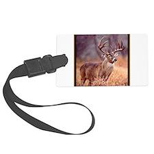 Wildlife Deer Buck Luggage Tag