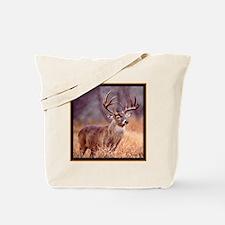Wildlife Deer Buck Tote Bag