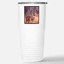 Wildlife Deer Buck Stainless Steel Travel Mug