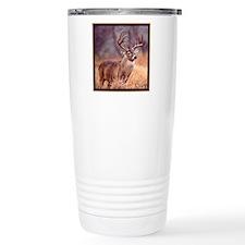 Wildlife Deer Buck Travel Coffee Mug