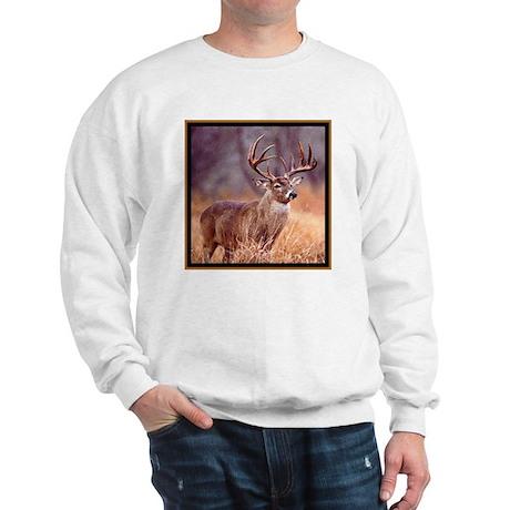 Wildlife Deer Buck Sweatshirt