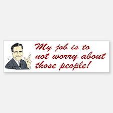 Shit Romney Says Bumper Bumper Bumper Sticker