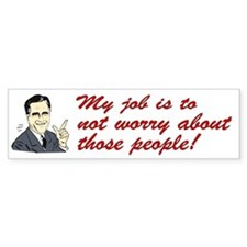 Shit Romney Says Bumper Bumper Sticker