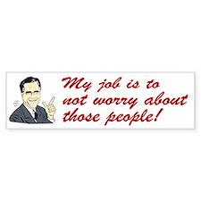 Shit Romney Says Bumper Bumper Sticker