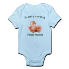 The Earth is in our hands Infant Bodysuit