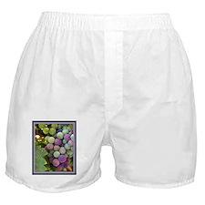 Wine Grapes Boxer Shorts