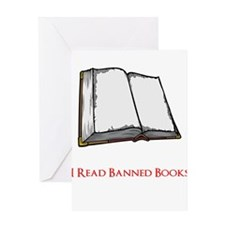 Banned Books Greeting Card