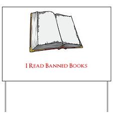 Banned Books Yard Sign