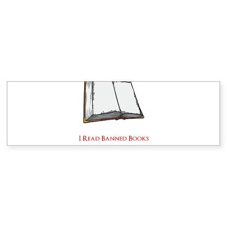 Banned Books Sticker (Bumper)