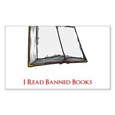 Banned Books Decal