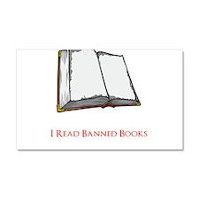 Banned Books Car Magnet 20 x 12