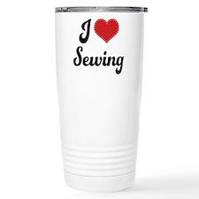 I Love Sewing Travel Mug
