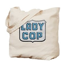 Lady Cop Tote Bag