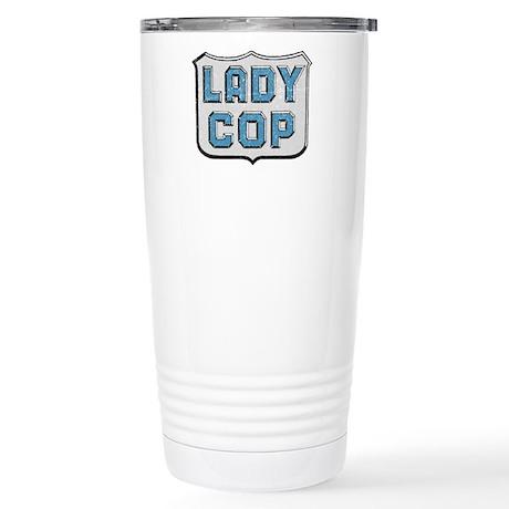 Lady Cop Stainless Steel Travel Mug