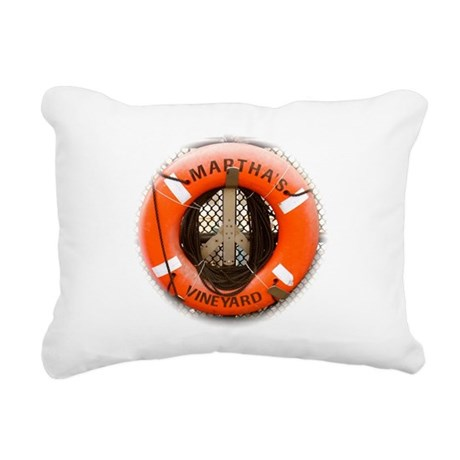 Marthas Vineyard Rectangular Canvas Pillow
