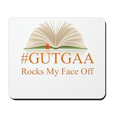 GUTGAA Rocks My Face Off Mousepad