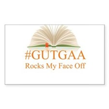 GUTGAA Rocks My Face Off Decal