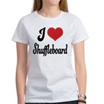I Love Shuffleboard Women's T-Shirt