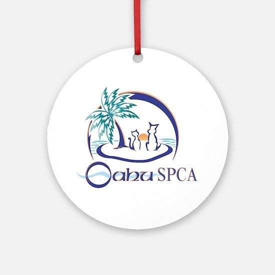 Oahu SPCA Ornament (Round)