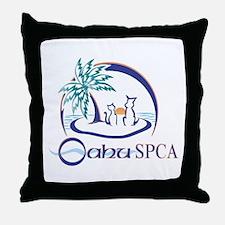 Oahu SPCA Throw Pillow