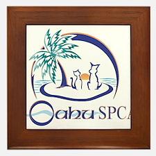Oahu SPCA Framed Tile