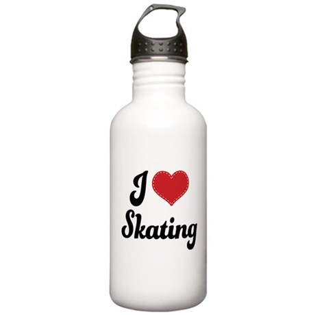 I Love Skating Stainless Water Bottle 1.0L