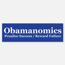 Obamanoics 2012 Election. Obama Sucks Bumper Bumper Sticker
