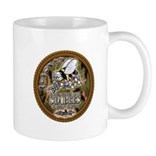 USN Navy Seabees Camo Roped Mug