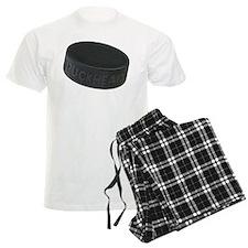 Hockey Puckhead Pajamas