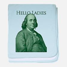 Ben Franklin - Hello Ladies baby blanket