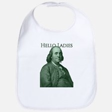 Ben Franklin - Hello Ladies Bib