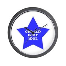 Gerald Is My Idol Wall Clock