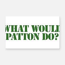 Patton.png Rectangle Car Magnet