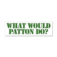 Patton.png Car Magnet 10 x 3
