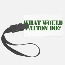 Patton.png Luggage Tag