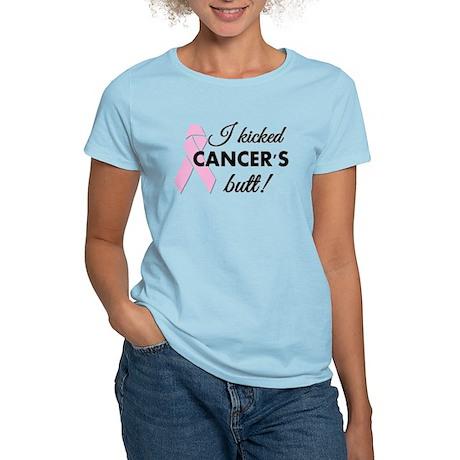 I kicked Cancers butt Women's Light T-Shirt
