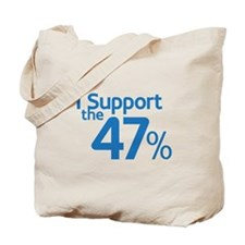I Support the 47% Tote Bag