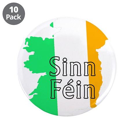 """Sinn Féin Small 3.5"""" Button (10 pack)"""