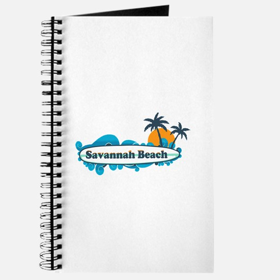 Savannah Beach GA - Surf Design. Journal