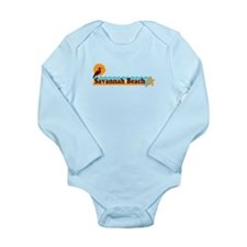 Savannah Beach GA - Beach Design. Onesie Romper Suit