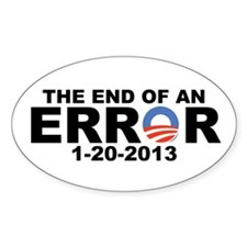 The End of an ERROR 1-20-2013 Decal